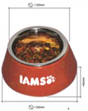 T066628 IAMS Futternapf klein orange