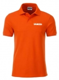 T067244 IAMS Poloshirt Damen orange L