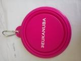 T066835 EUK Futternapf faltbar pink
